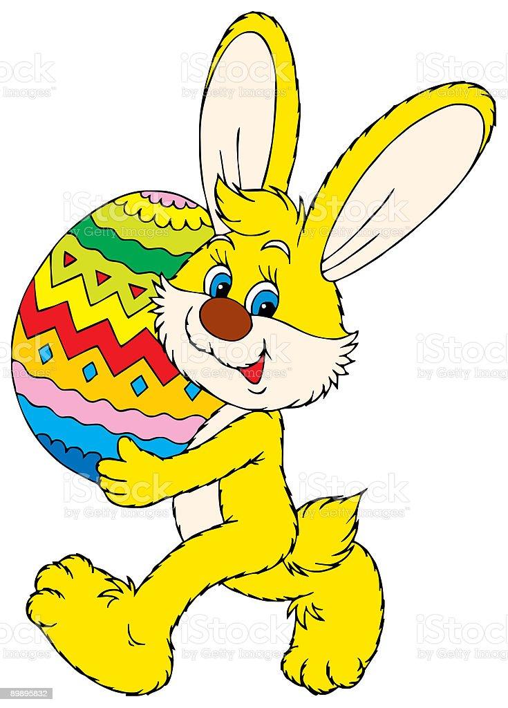 Conejo de pascua ilustración de conejo de pascua y más banco de imágenes de animal libre de derechos