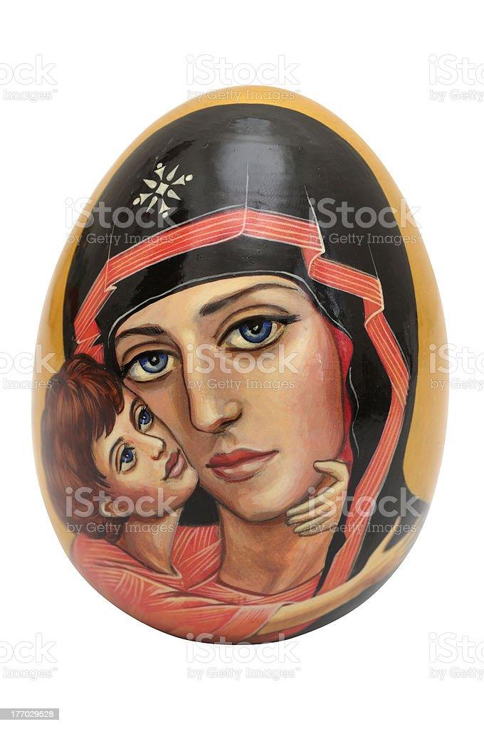 Easter egg artwork - Royalty-free Art stock illustration