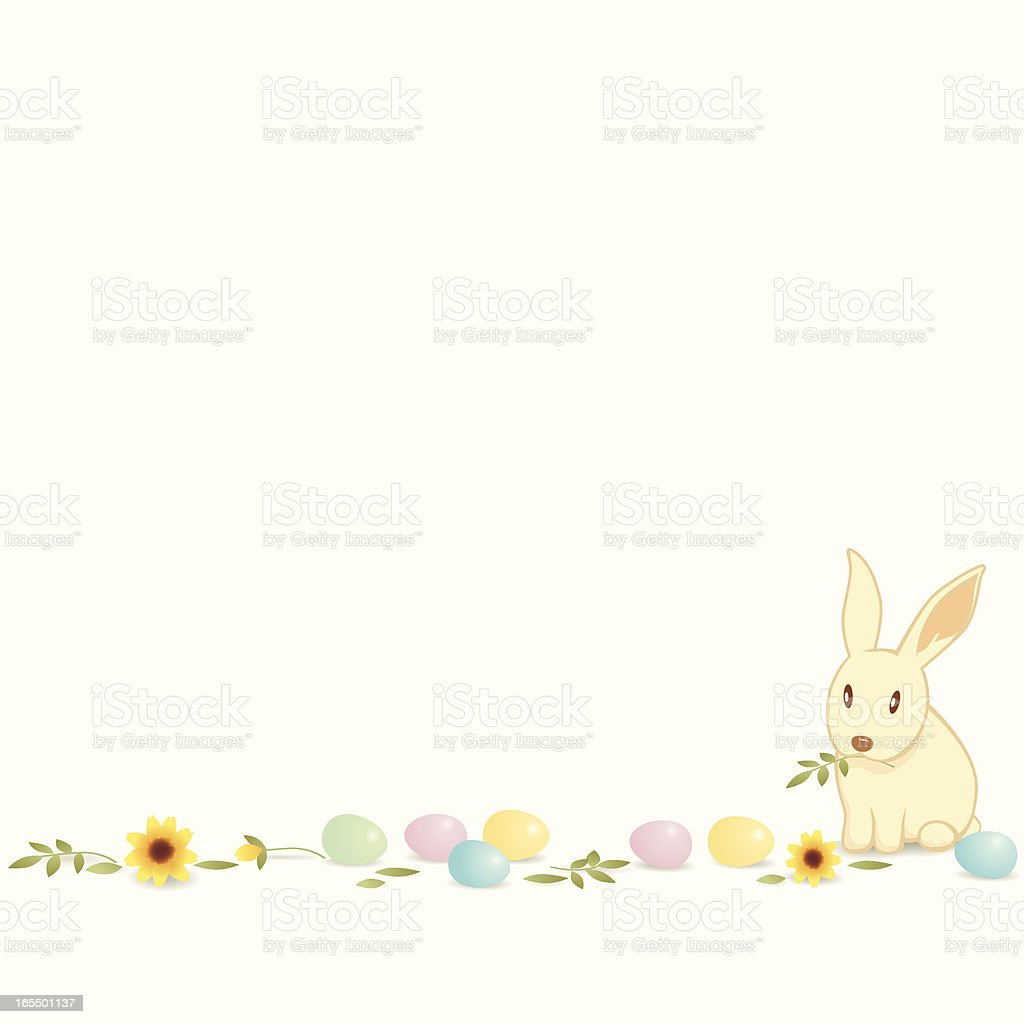 Easter Eggs and Bunny royalty-free easter eggs and bunny stock vector art & more images of animal