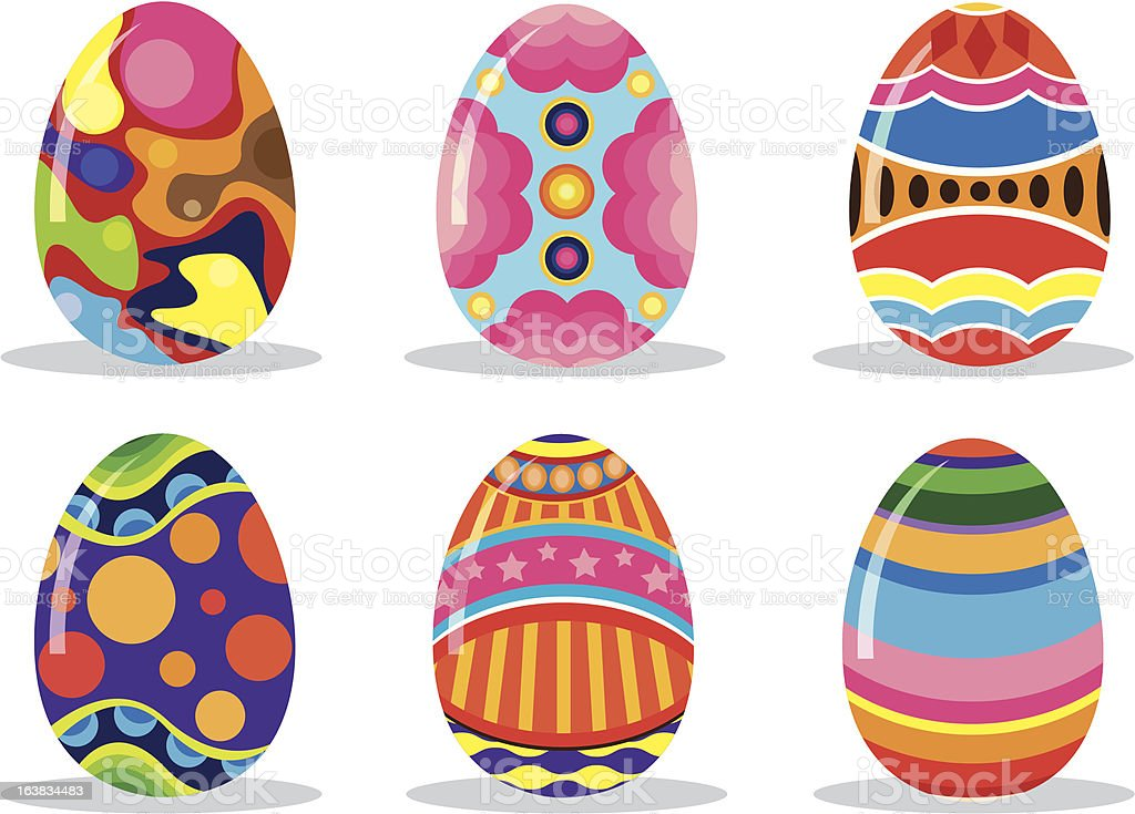 Easter eggs royalty-free easter eggs stock vector art & more images of celebration event