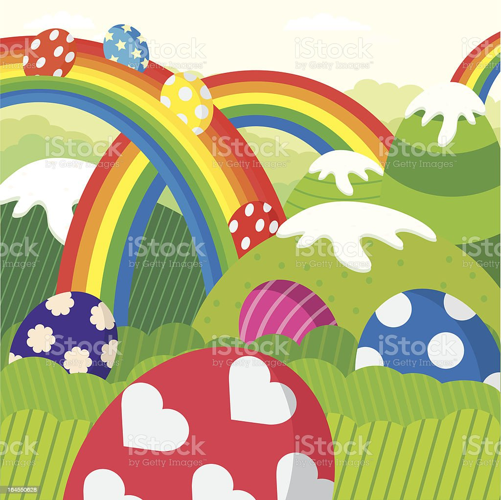 Easter Land royalty-free easter land stock vector art & more images of animal