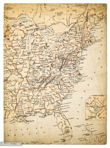 Cornell's Grammar School Geography By S.S. Cornell - New York 1869