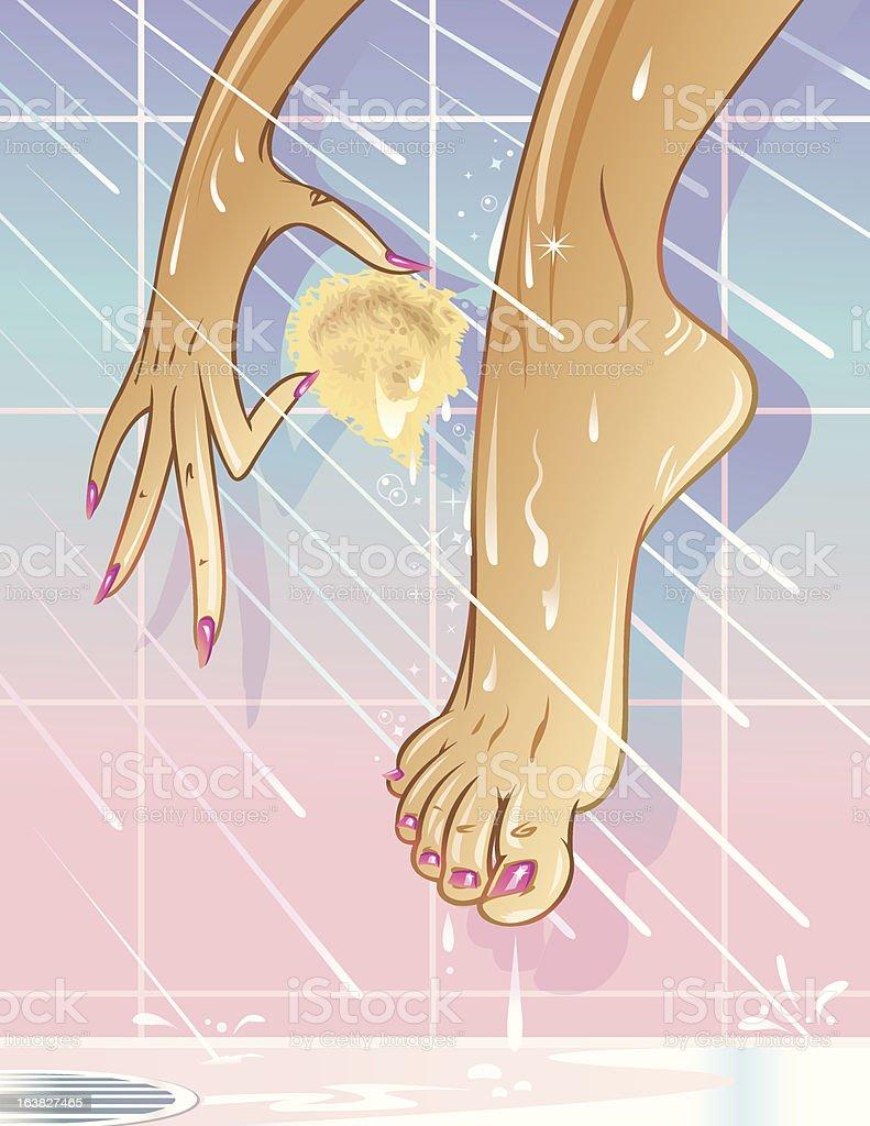 Ebony feet pic