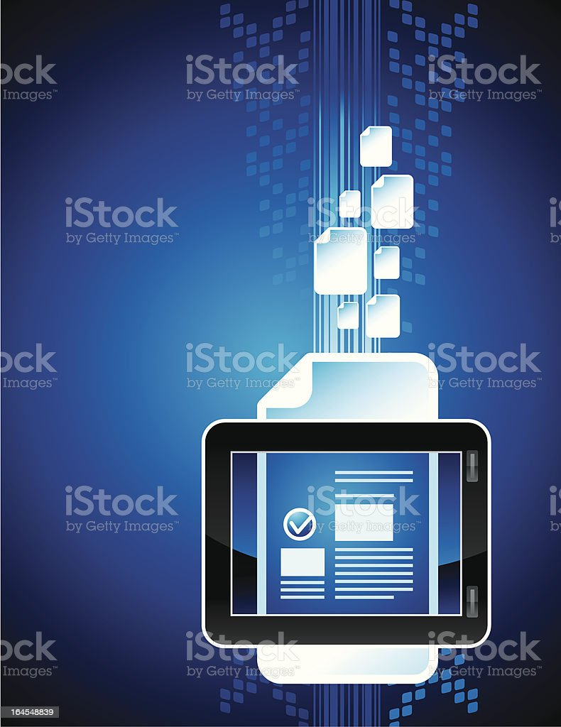 eBook reader abstract royalty-free ebook reader abstract stock vector art & more images of abstract