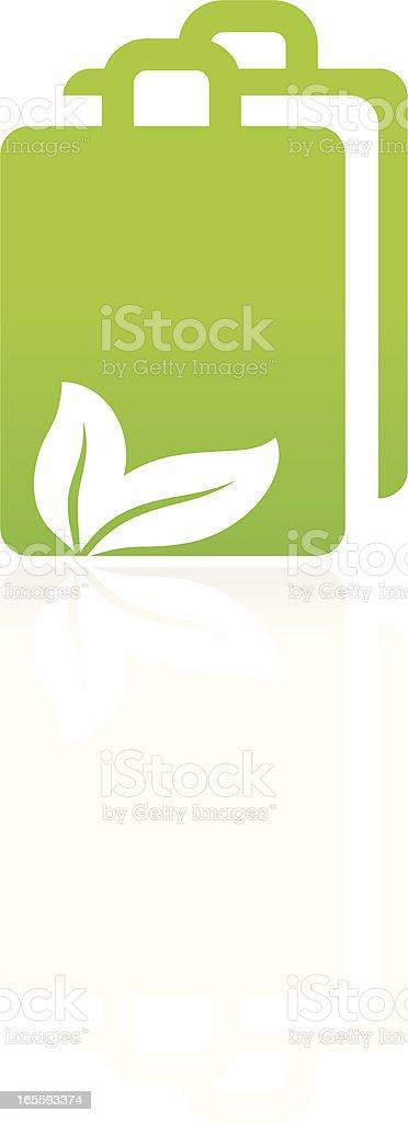 Eco bag royalty-free eco bag stock vector art & more images of bag