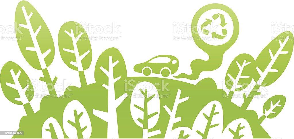 Eco City royalty-free stock vector art
