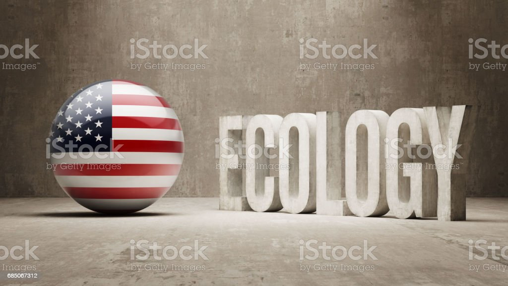 Ecology Concept royalty-free ecology concept stock vector art & more images of american flag