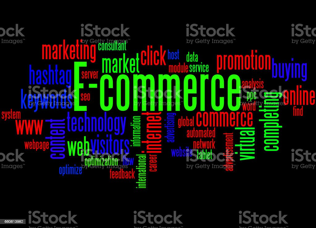 E-commerce, word cloud concept 8 royalty-free ecommerce word cloud concept 8 stock vector art & more images of advertisement