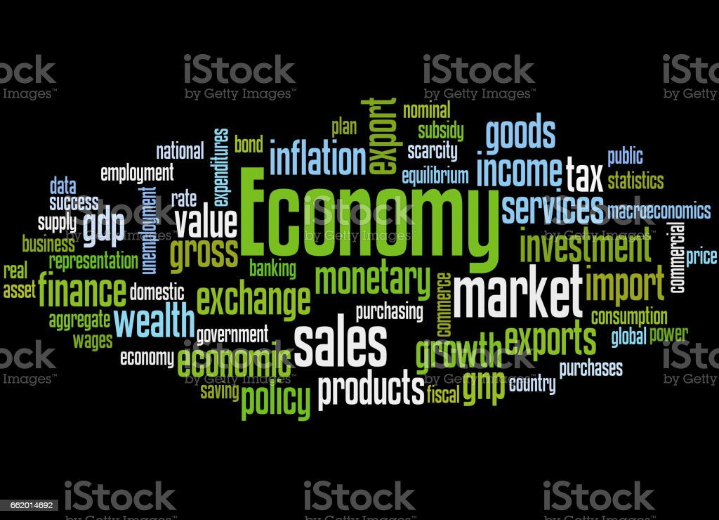 Economy, word cloud concept 5 royalty-free economy word cloud concept 5 stock vector art & more images of business