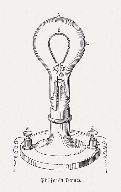 Best Thomas Edison Illustrations, Royalty-Free Vector ...