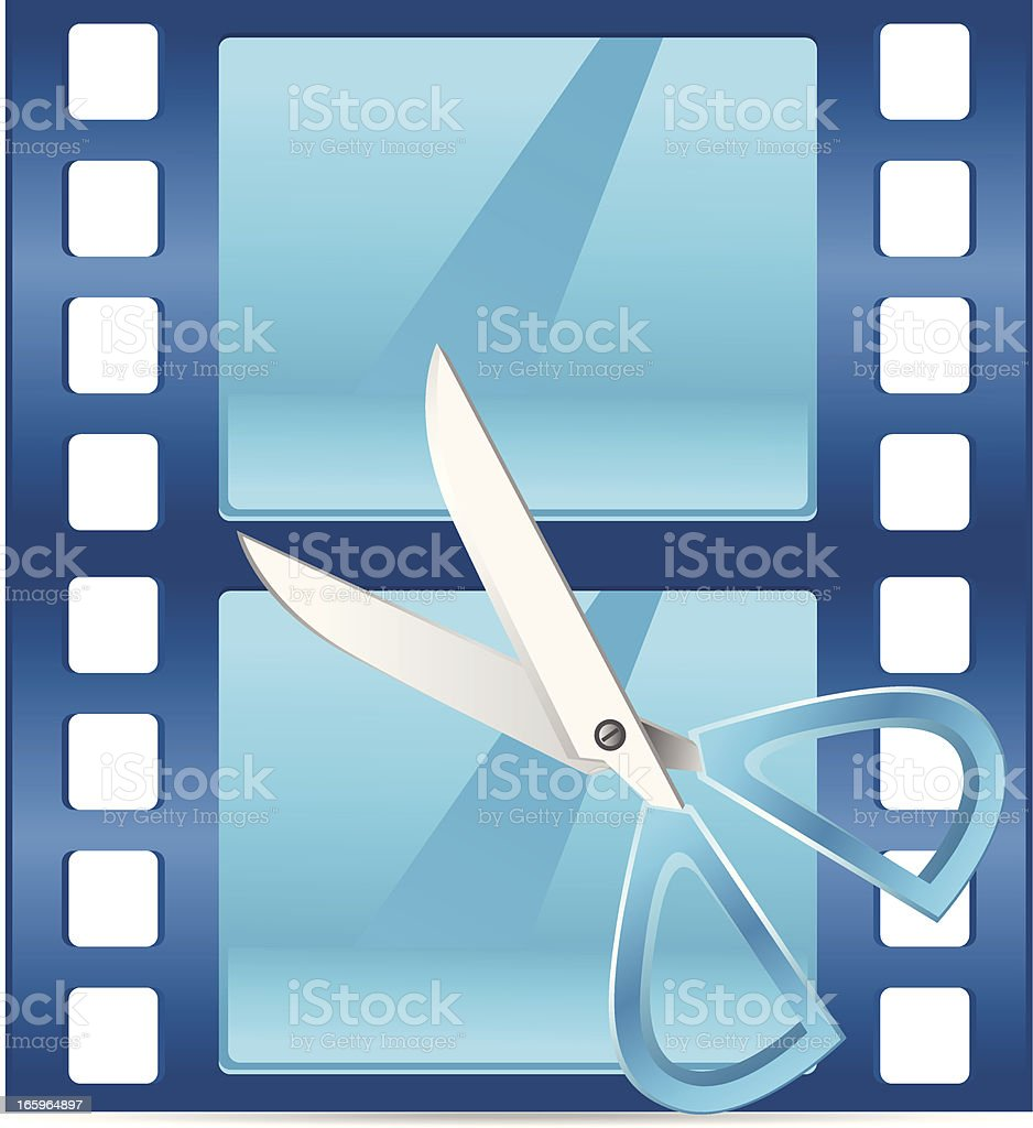 Edit Video royalty-free edit video stock vector art & more images of computer key