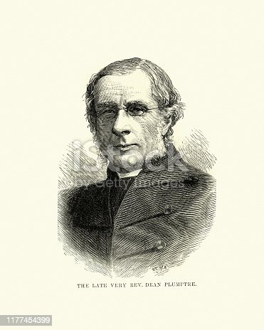 istock Edward Plumptre, Victorian English divine and scholar 19th Century 1177454399