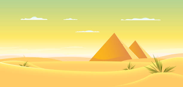 royalty free pyramids egypt clip art vector images
