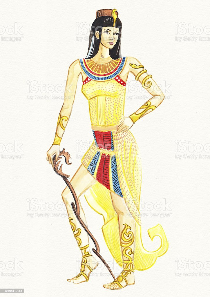 Egyptian Queen royalty-free egyptian queen stock vector art & more images of adult
