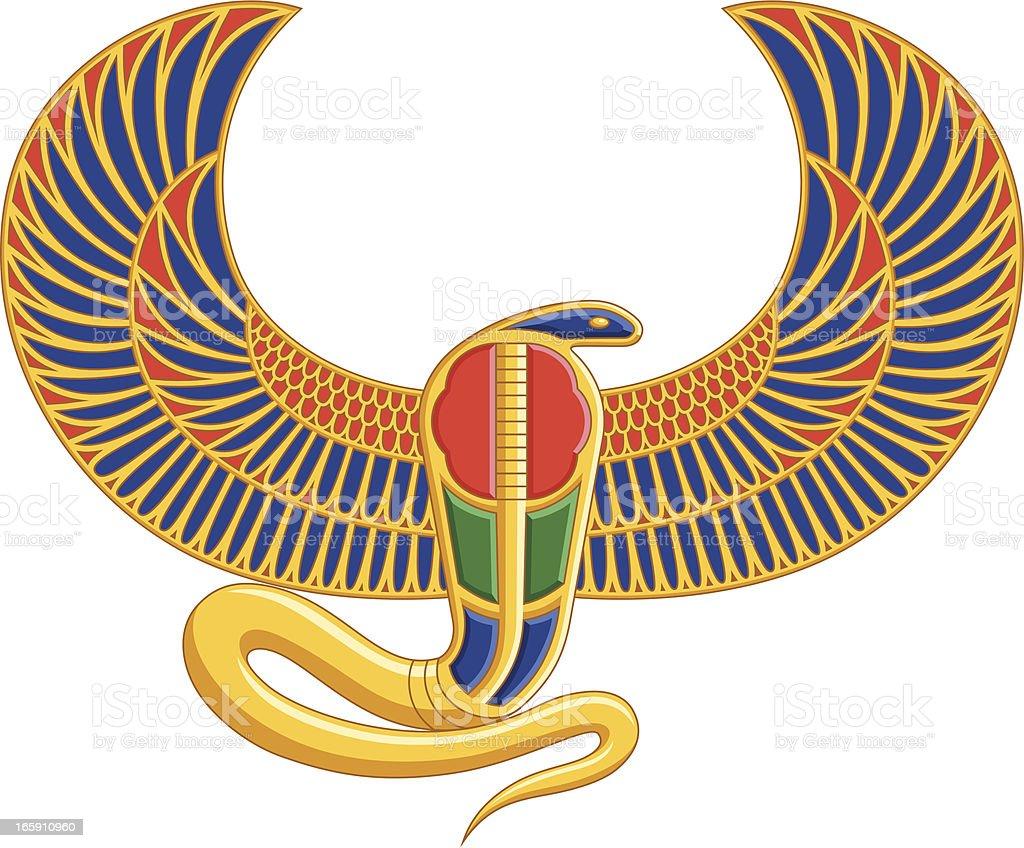 Egyptian Snake royalty-free stock vector art