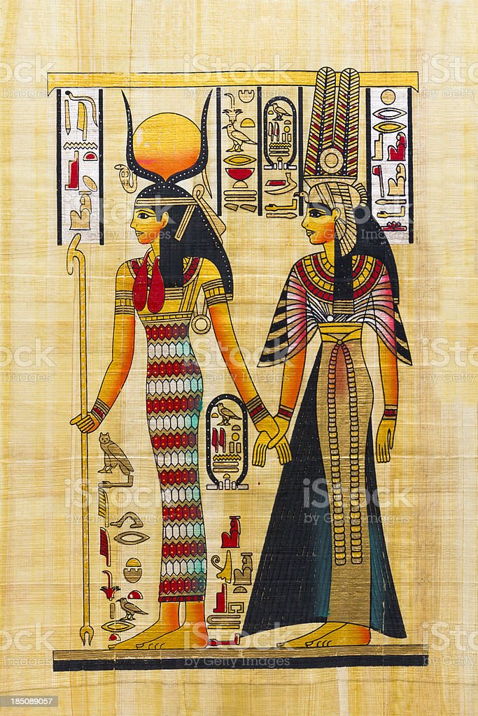 Egyptian Souvenir Papyrus royalty-free egyptian souvenir papyrus stock vector art & more images of adult