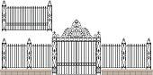 Elaborate Wrought Iron Gate