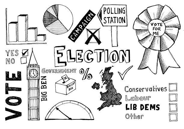 342 General Election Illustrations Clip Art Istock