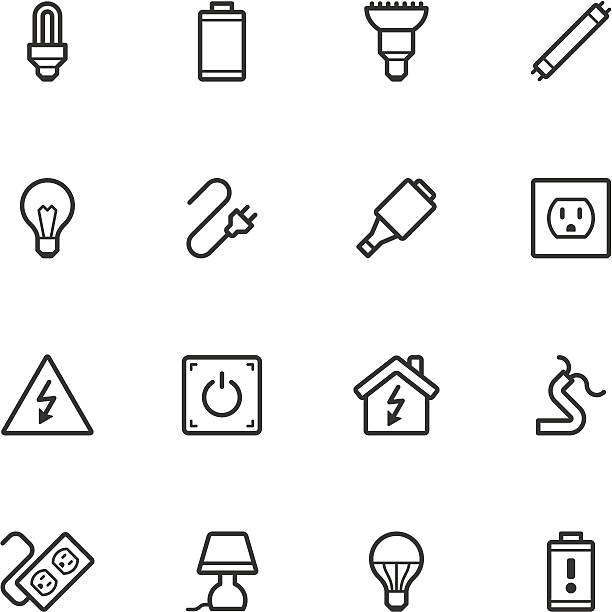 Best Extension Cord Illustrations, Royalty-Free Vector