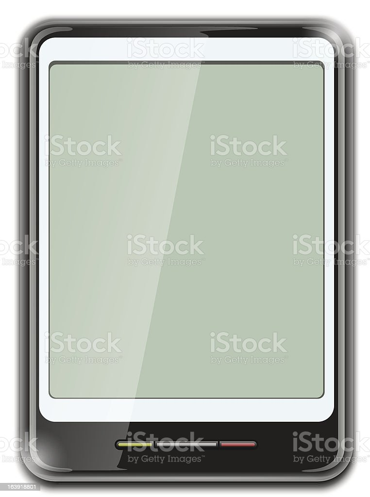 electronic clipboard icon royalty-free stock vector art