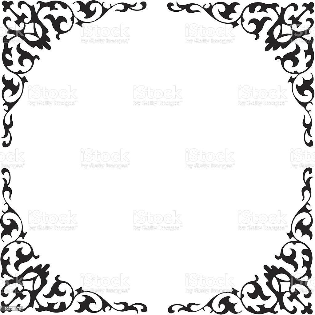 elegant frames royalty free stock vector art - Elegant Frames