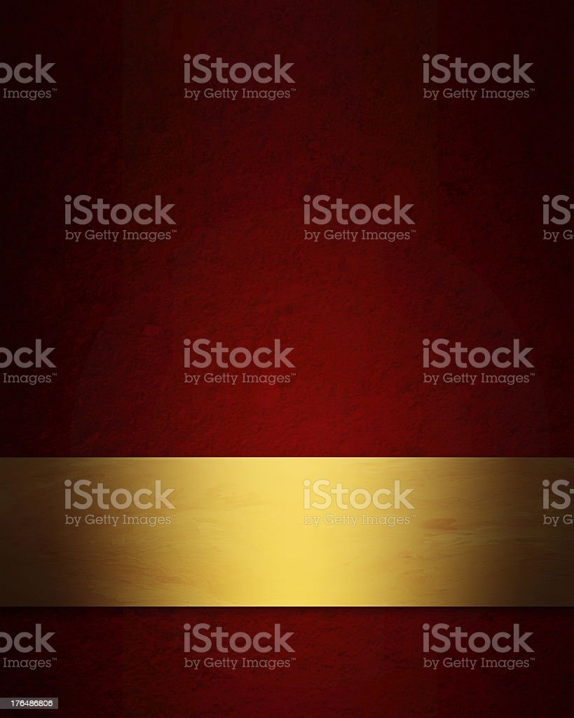 elegant red and gold Christmas background vector art illustration