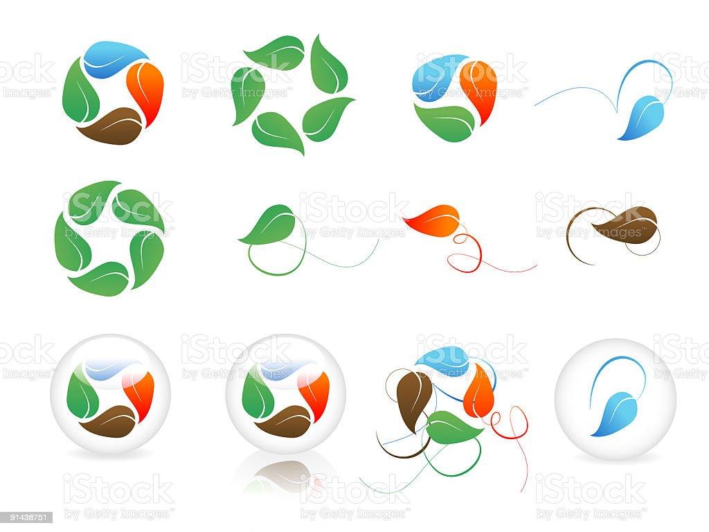 Elements (Vector) vector art illustration