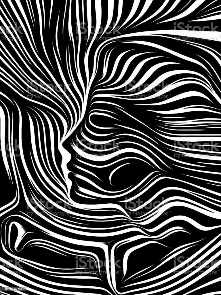 Elements of Inner Lines vector art illustration