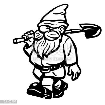 Elf With Shovel