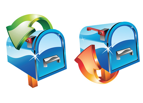 Email 3d Icons Stock Illustration - Download Image Now