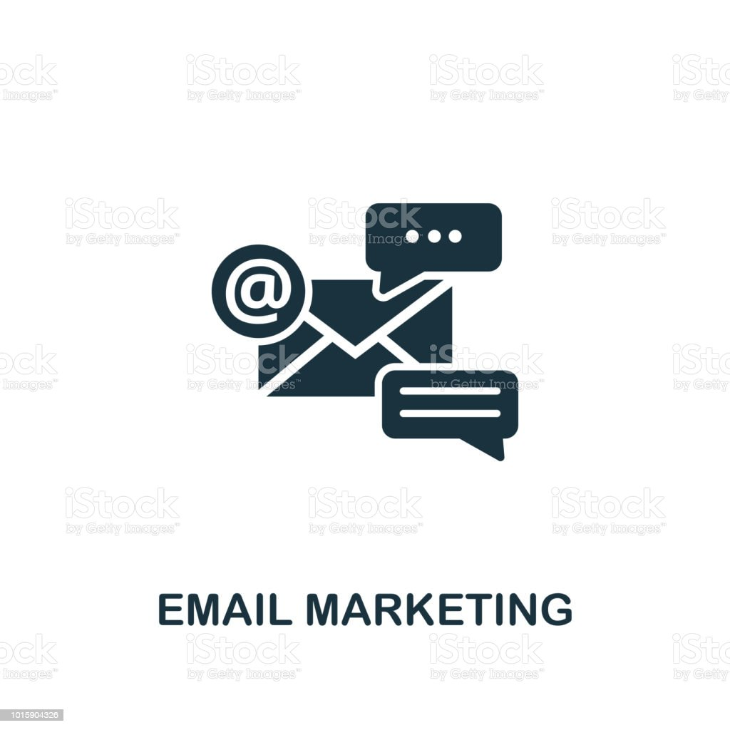 Email Marketing Creative Icon Simple Element Illustration Email