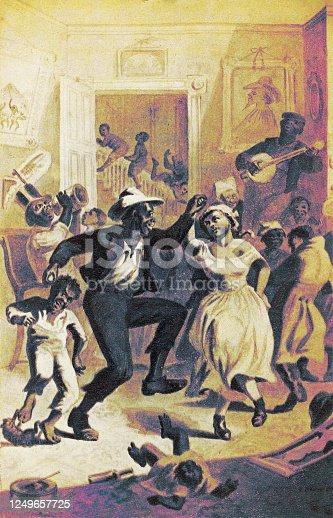 istock Emancipation of the Slaves 1249657725
