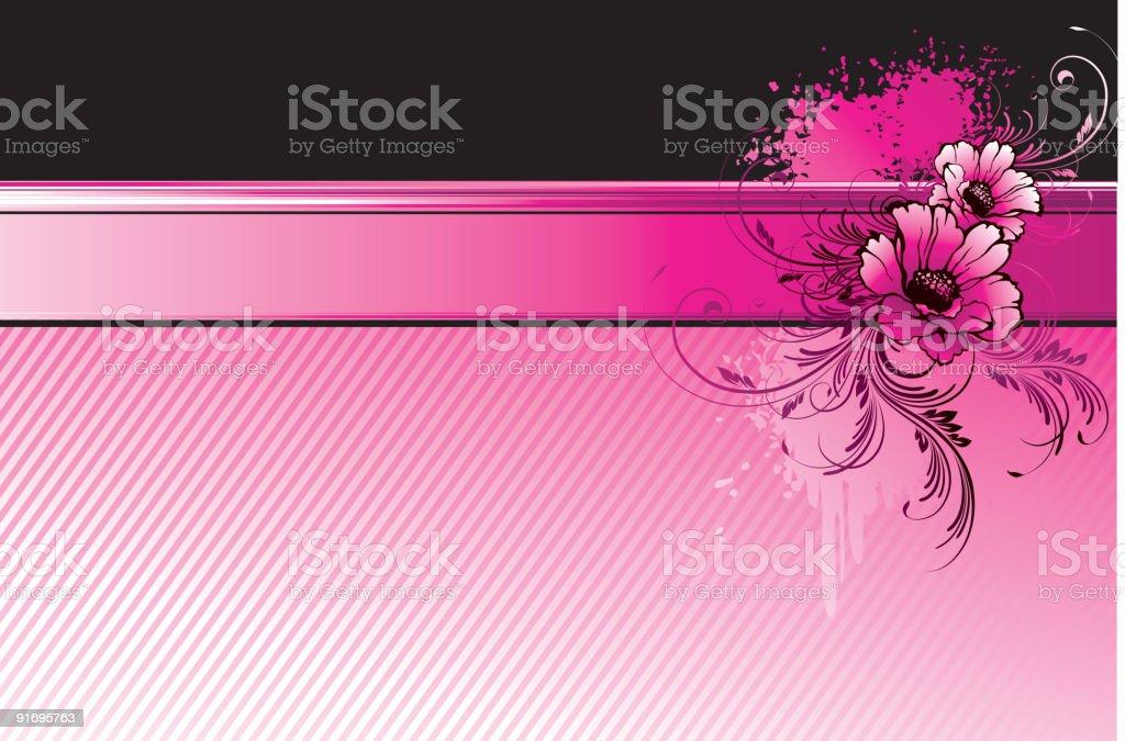 Emo banner royalty-free stock vector art