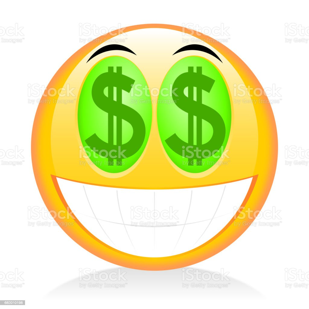 emoji 233motic244ne signe dollar � cliparts vectoriels et plus