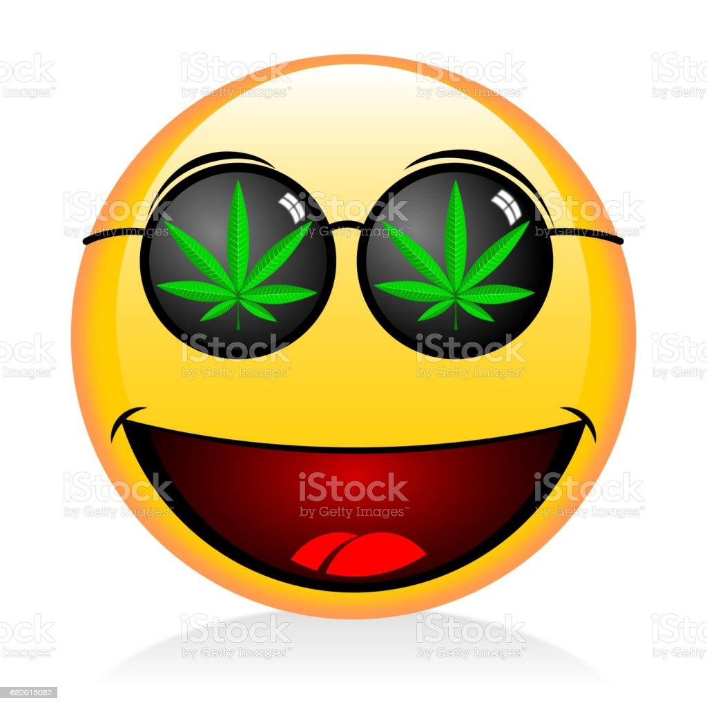 Weed Libres Y Fumar Vectores Más Derechos Ilustración Emoji De rsCthdQ