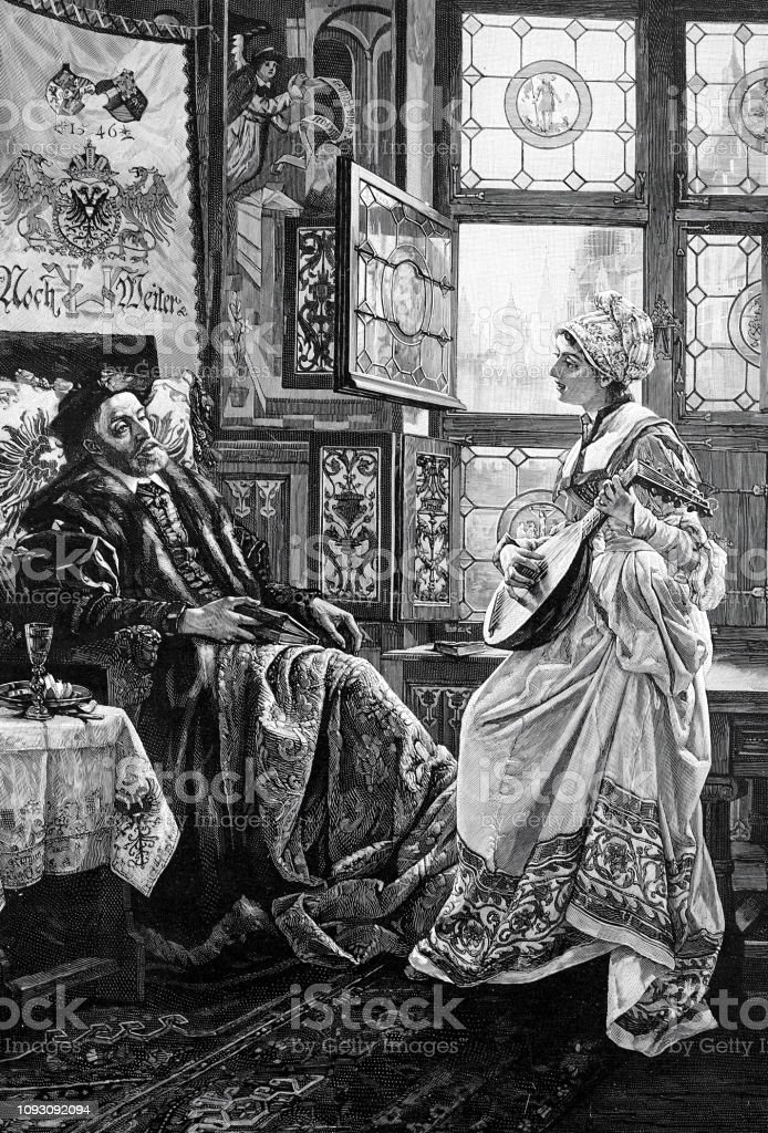 皇帝カール 5 世とレーゲンスブ...