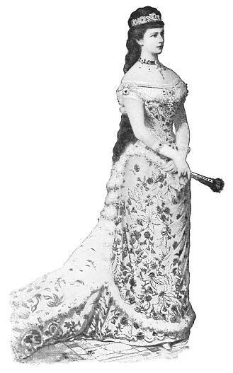 Empress Elisabeth of Austria - Austro-Hungarian Empire 18th Century