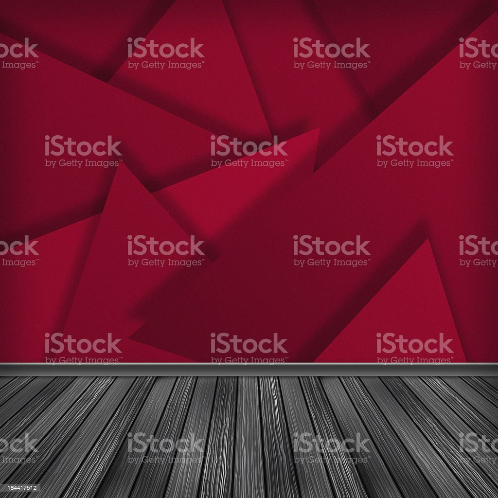 Empty room, interior with wallpaper. High resolution texture bac royalty-free stock vector art