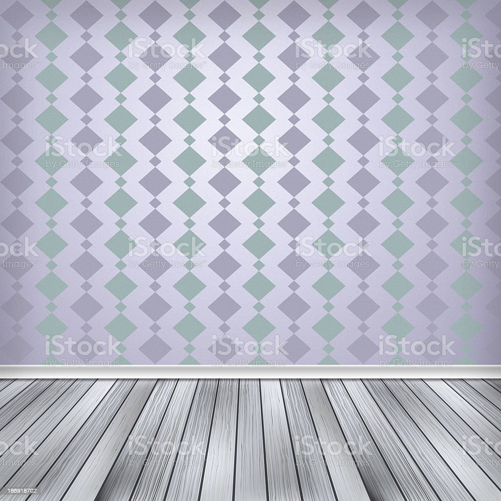 Carta Da Parati Texture vuoto camera interno con carta da parati texture ad alta