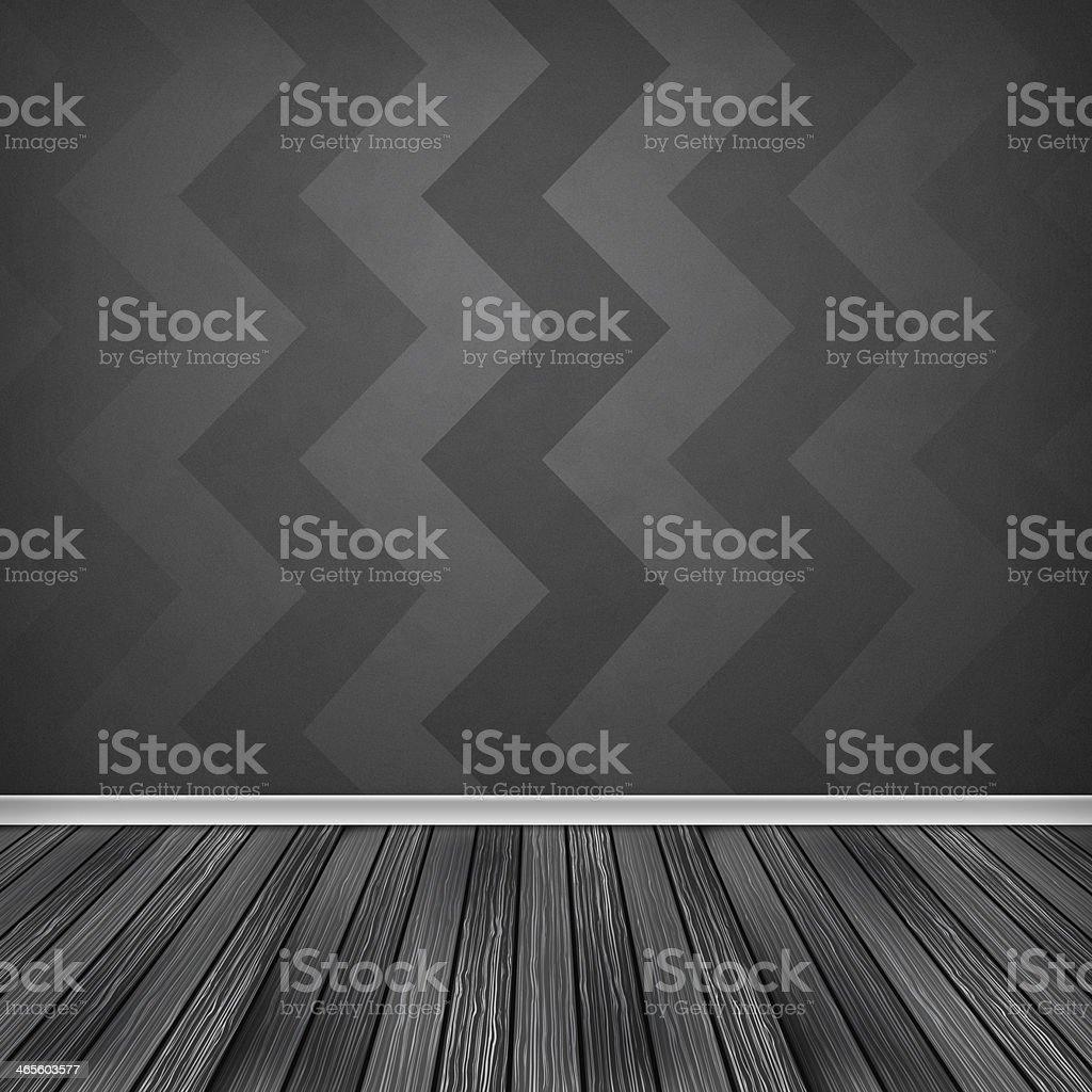 Quarto Vazio Interior Com Papel De Parede Textura De Alta  ~ Papel De Parede Para Quarto Textura