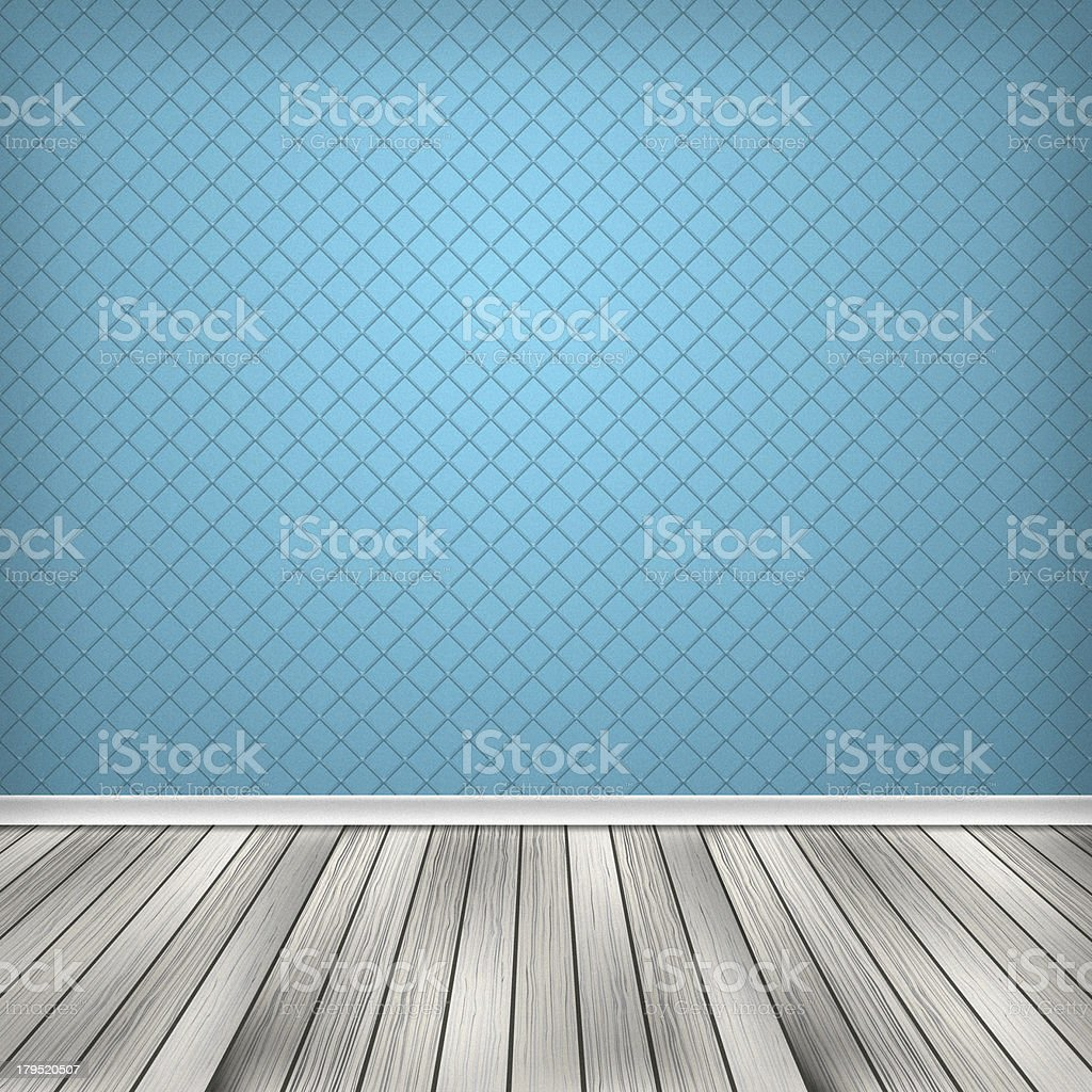 Empty room, interior with wallpaper royalty-free empty room interior with wallpaper stock vector art & more images of abstract