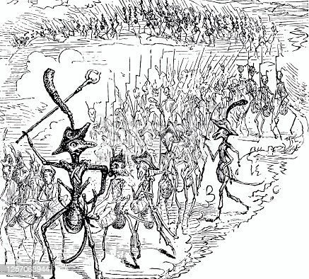 istock En garde: army of ants marching off 1257063944