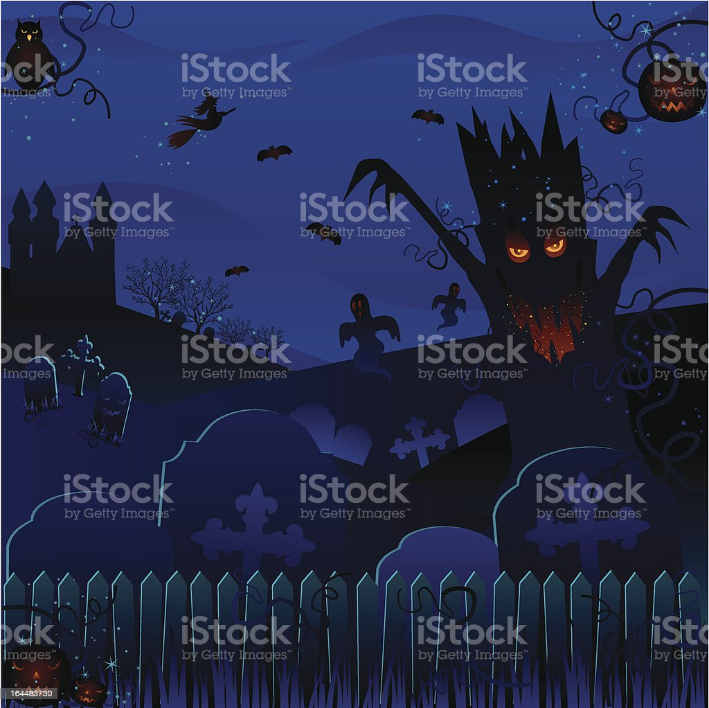 Enchanted Forest royalty-free stock vector art