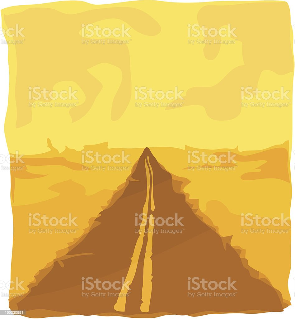 Endless Road royalty-free endless road stock vector art & more images of asphalt