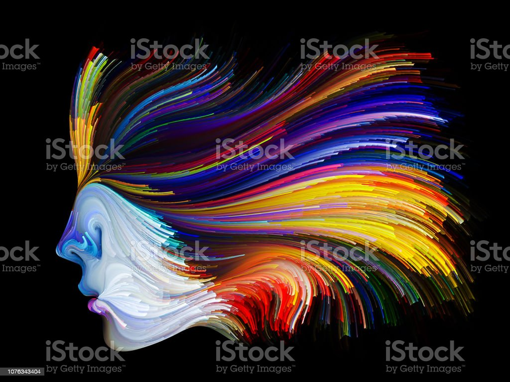 Energy of Inner Palette vector art illustration