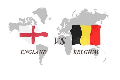 .  G. England vs Belgium