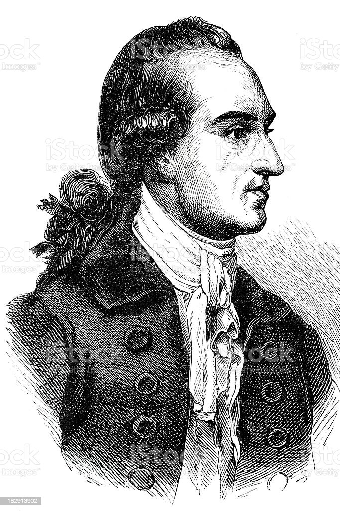 Engraving of german writer and philosopher Goethe from 1870 royalty-free engraving of german writer and philosopher goethe from 1870 stock vector art & more images of 18th century