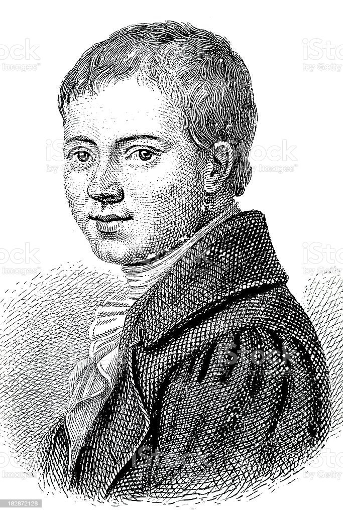 Engraving of poet Heinrich von Kleist from 1870 royalty-free engraving of poet heinrich von kleist from 1870 stock vector art & more images of 18th century