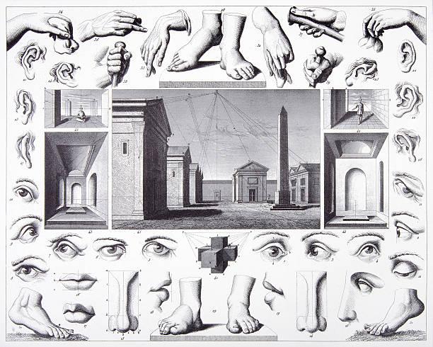 ilustrações de stock, clip art, desenhos animados e ícones de gravação: a arte de desenho - feet hand