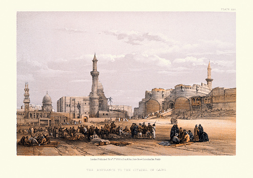 Entrance to the Citadel of Cairo, 19th Century